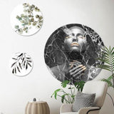 Black Marble Lady | CIRCLE ART