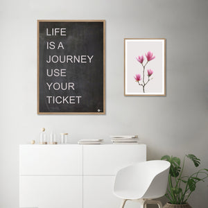 Life is a journey | PLAKAT | POSTER