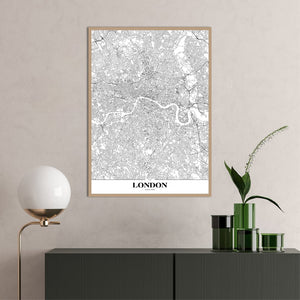 Map London | PLAKAT