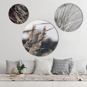 Mellow Grasses 1 | CIRCLE ART | RUNDE BILLEDER