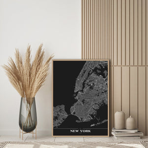 New York black | PLAKAT