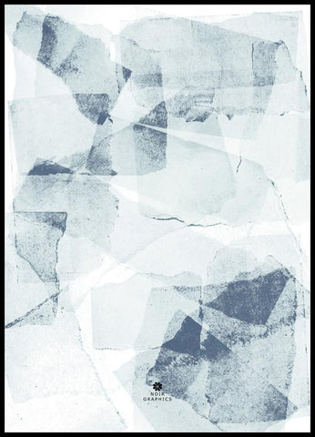 Patched Blue 1 | PLAKAT | POSTER