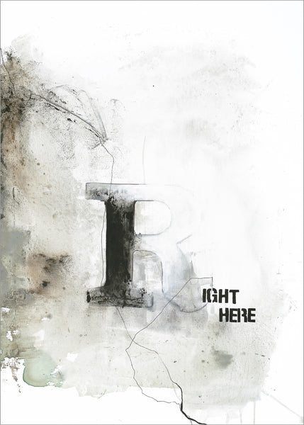 Right Here | PLAKAT