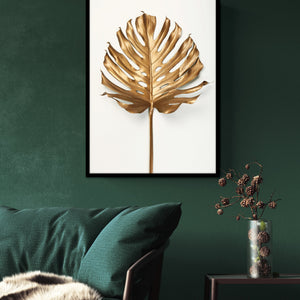 Monstrea Gold Leaf | PLAKAT | POSTER