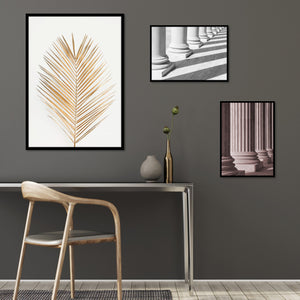 Palm Leaf Gold | PLAKAT