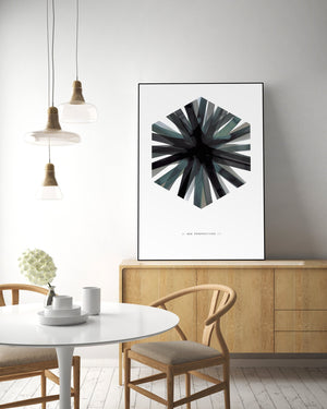 Aquarelle Hex | POSTER BOARD