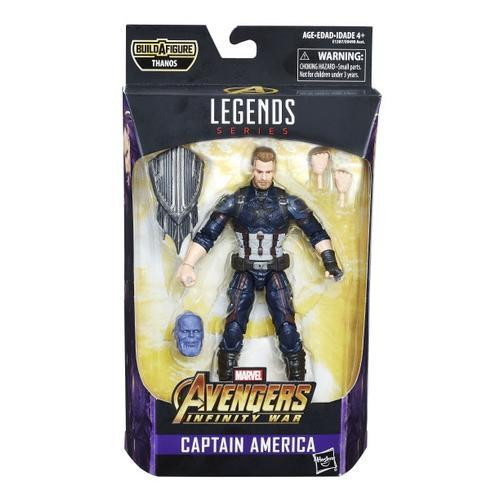 Avengers Marvel Legends Infinity War 6-Inch Action Figures Wave 1-Action Figure-Hasbro-Captain America-Mekong Magic