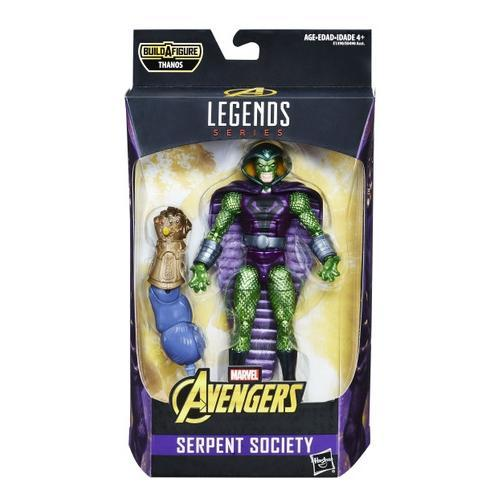 Avengers Marvel Legends Infinity War 6-Inch Action Figures Wave 1-Action Figure-Hasbro-Serpent Society-Mekong Magic