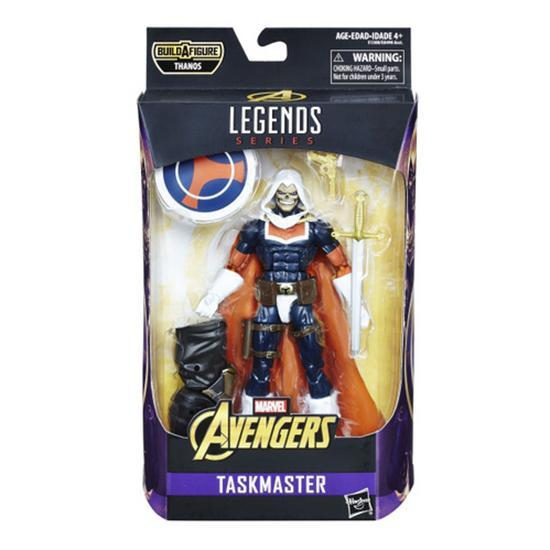 Avengers Marvel Legends Infinity War 6-Inch Action Figures Wave 1-Action Figure-Hasbro-Task Master-Mekong Magic