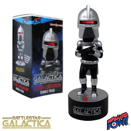 Battlestar Galactica Cylon Centurion Bobble Head with Lights and Sound-Electronic-Bif Bang Pow!-Mekong Magic