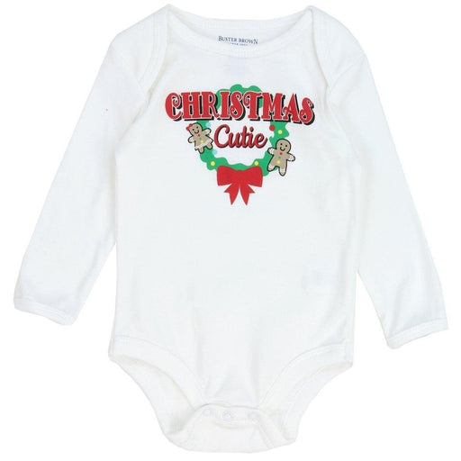 "Buster Brown Baby Onesize ""Christmas Cutie""-Baby Onesize-Buster Brown-Mekong Magic"