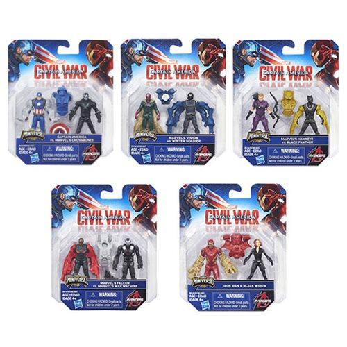 Captain America Civil War 2 1/2-Inch Action Figures Wave 1-Action Figure-Hasbro-Mekong Magic