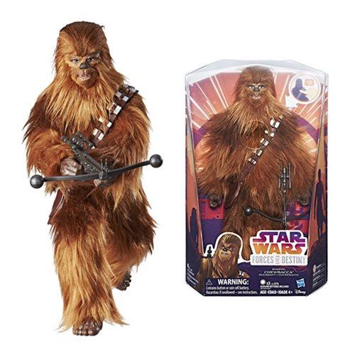 Chewbacca Star Wars Hasbro Forces of Destiny Roaring Action Doll-Doll-Hasbro-Mekong Magic