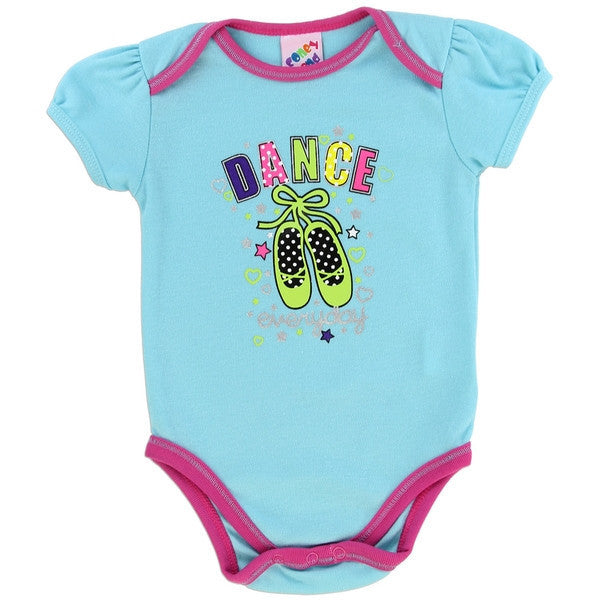 Coney Island Fashion Collection Baby Onesies-Onesie-Coney Island-0-3 Months-Blue Ballet-Mekong Magic