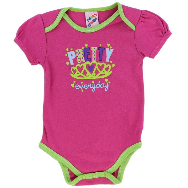 Coney Island Fashion Collection Baby Onesies-Onesie-Coney Island-0-3 Months-Fuschia Everyday Pretty-Mekong Magic