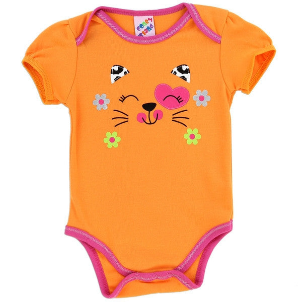 Coney Island Fashion Collection Baby Onesies-Onesie-Coney Island-0-3 Months-Orange Smiles-Mekong Magic