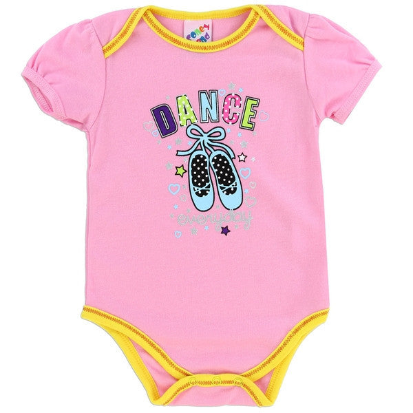 Coney Island Fashion Collection Baby Onesies-Onesie-Coney Island-0-3 Months-Pink Ballet-Mekong Magic