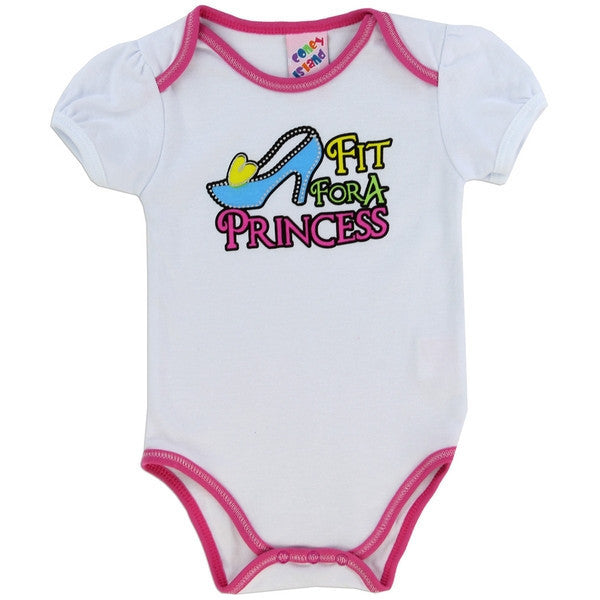 Coney Island Fashion Collection Baby Onesies-Onesie-Coney Island-0-3 Months-Princess White-Mekong Magic