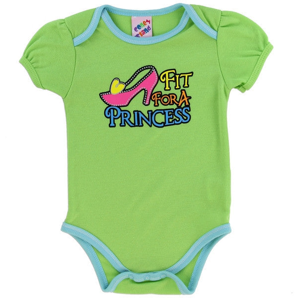 Coney Island Fashion Collection Baby Onesies-Onesie-Coney Island-0-3 Months-Teal Princess-Mekong Magic