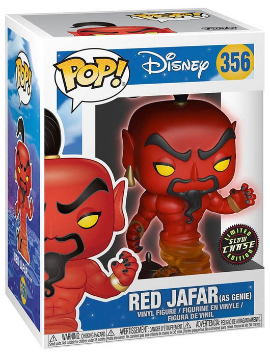 Disney Aladdin Red Jafar Pop! Vinyl Figure #356-Vinyl Figure-Funko-Chase-Mekong Magic