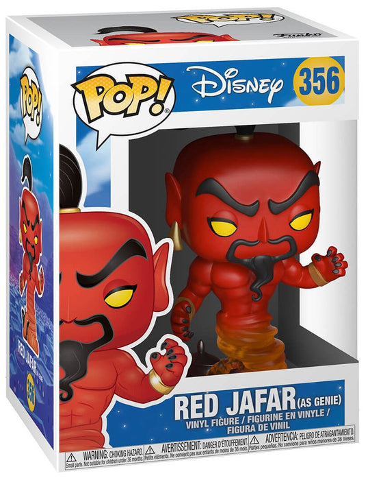 Disney Aladdin Red Jafar Pop! Vinyl Figure #356-Vinyl Figure-Funko-Common-Mekong Magic