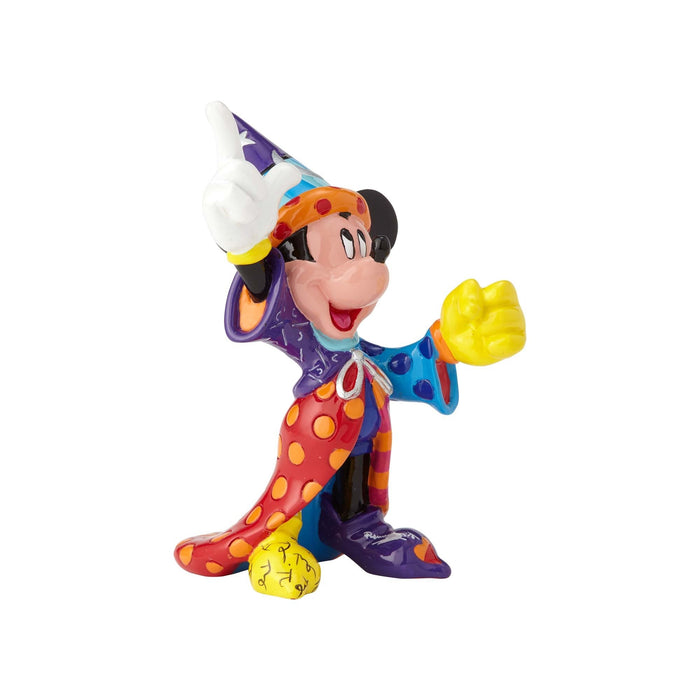 Disney Romero Britto Sorcerer Mickey Mouse Mini Figurine from Enesco-Statue-Enesco-Mekong Magic