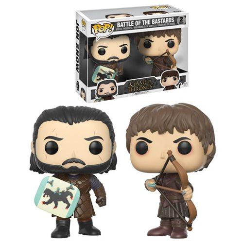 Funko Pop! Vinyl TV GOT Game Of Thrones Battle Of The Bastards Figure 2 Pack-Vinyl Figure-Funko-Mekong Magic