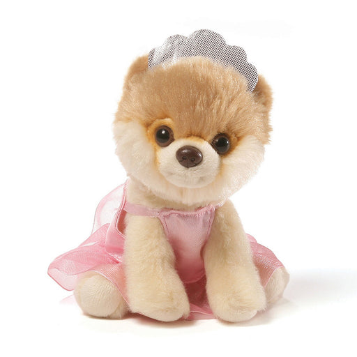 "Gund Itty Bitty Boo 5"" Plush Ballerina #036-Plush-GUND-Mekong Magic"