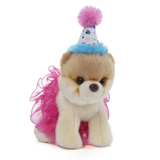 "Gund Itty Bitty Boo 5"" Plush in Birthday Tutu-Plush-GUND-Mekong Magic"