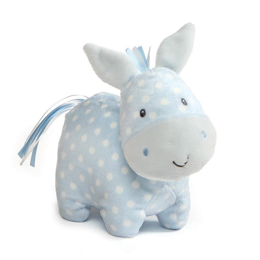 "Gund Roly Polys Horse, 6"" Blue Polka Dot-Plush-GUND-Mekong Magic"