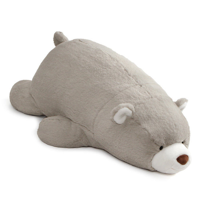 Gund Snuffles Laying Down Teddy Bear 27 Inch Super Soft 2018 Plush-Plush-GUND-Grey-Mekong Magic
