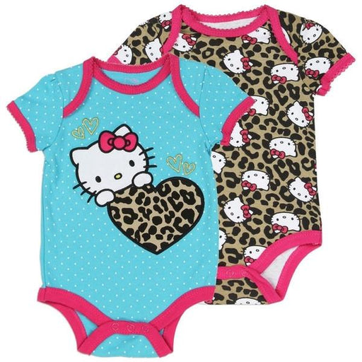 Hello Kitty 2 Pack Turquoise Jumper-Onesie-Sanrio-Mekong Magic