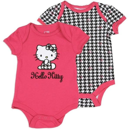 Hello Kitty Girls 2 Pack Red Jumper-Onesie-Sanrio-Mekong Magic