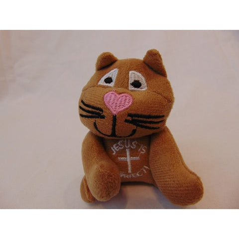 Purrrfect for Jesus 3 Stuffed Cats-Plush-OTC-Mekong Magic