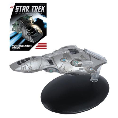 Star Trek Voyager Voth Research Vessel Metal Die-Cast Vehicle with Magazine-Vehicle-Eaglemoss-Mekong Magic