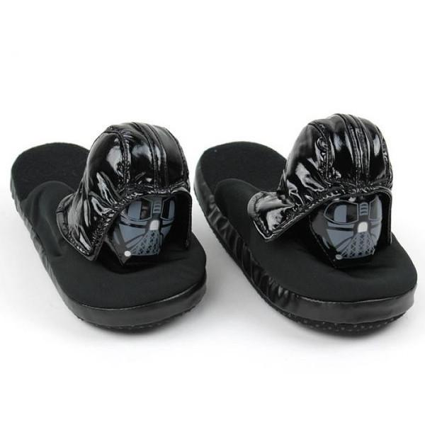 Star Wars Darth Vader Slippers-Slippers-Comic Images-Mekong Magic