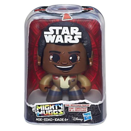 Star Wars Last Jedi Mighty Muggs Action Figures Wave 2-Action Figure-Hasbro-Finn-Mekong Magic