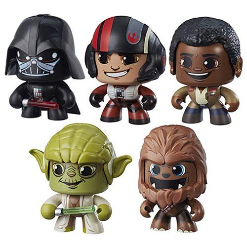 Star Wars Last Jedi Mighty Muggs Action Figures Wave 2-Action Figure-Hasbro-Mekong Magic