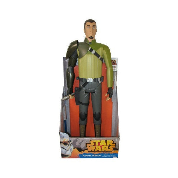 "Star Wars Rebels (Comic Series) 19"" Kanan Jarus Action Figure-Action Figure-Jakks-Mekong Magic"