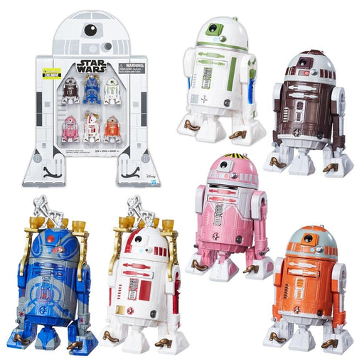 Star Wars The Black Series Astromech Droids 3 3/4-Inch Action Figures-Action Figure Collection-Hasbro-Mekong Magic