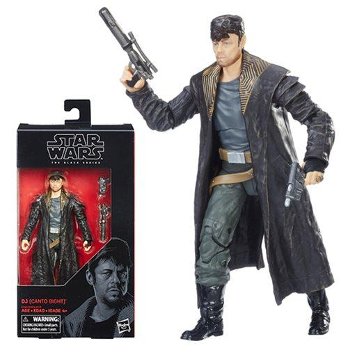 Star Wars The Black Series DJ (Canto Bight) 6-Inch Action Figure #57-Action Figure-Hasbro-Mekong Magic
