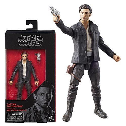 Star Wars The Black Series Last Jedi Poe Dameron 6-Inch Action Figure #53-Action Figure-Hasbro-Mekong Magic