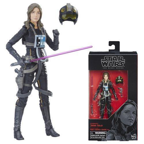 Star Wars The Black Series Legends Jaina Solo 6-Inch Action Figure-Action Figure-Hasbro-Mekong Magic