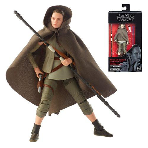 Star Wars The Black Series The Solo Movie 6-Inch Action Figure Wave 17-Action Figure-Hasbro-Rey Island Journey-Mekong Magic