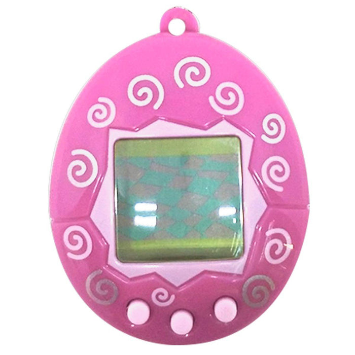 Tamagotchi Chibi Digital Pet Series 2 20th Anniversary Pink Swirl-Electronic-Bandai-Mekong Magic