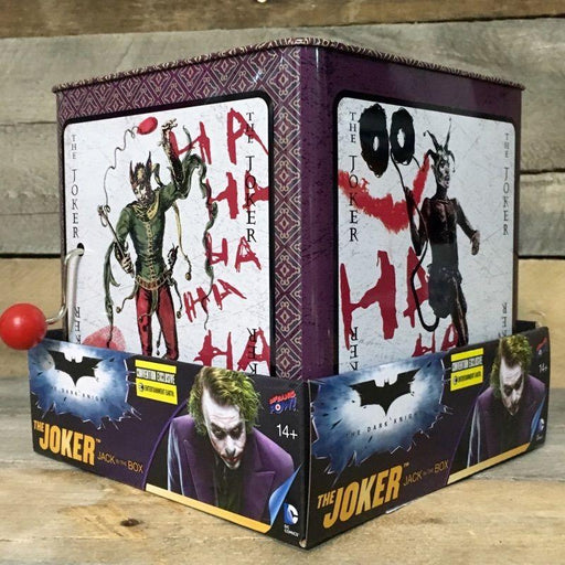 The Dark Knight Joker Jack-in-the-Box - Convention Exclusive-Collectible-Bif Bang Pow!-Mekong Magic