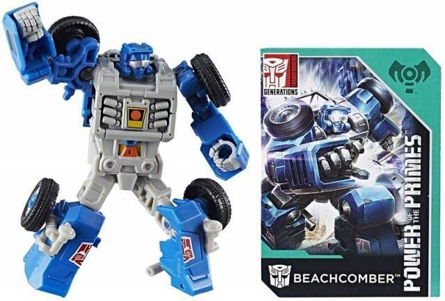 Transformers Generations Power of the Primes Legends Wave 1-Transformer-Hasbro-Beachcomber-Mekong Magic