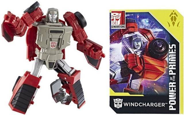 Transformers Generations Power of the Primes Legends Wave 1-Transformer-Hasbro-Windcharger-Mekong Magic