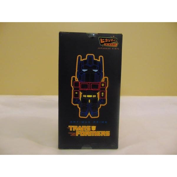 Transformers Metallic Optimus Prime Hikari Vinyl Figure-Vinyl Figure-Funko-Mekong Magic