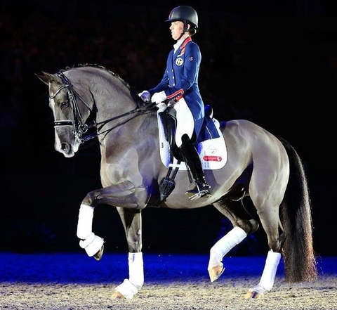 Charlotte Dujardin in Partnership with Haygain